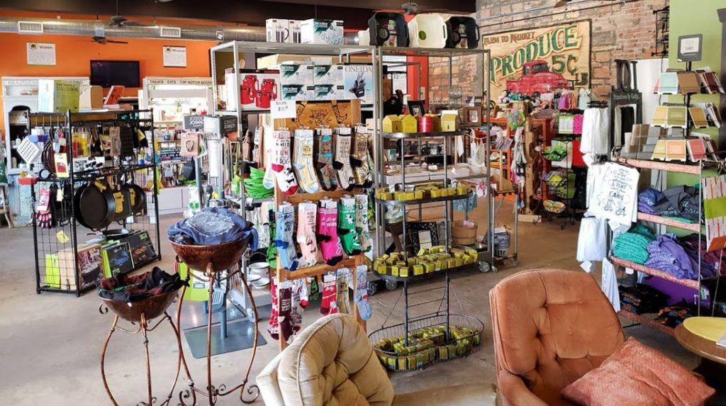 Brazos Market and Bistro store interior