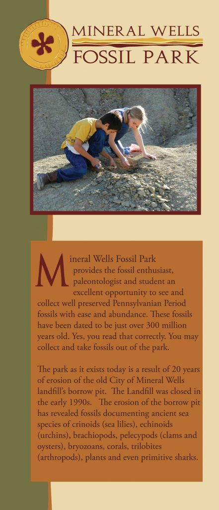2015 Fossil Park Brochure cover