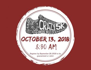 Crazy 5k 2018 banner