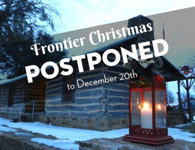 Frontier Christmas to Dec. 20th