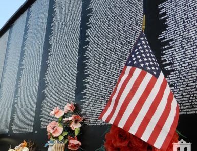 National Vietnam War Museum Wall