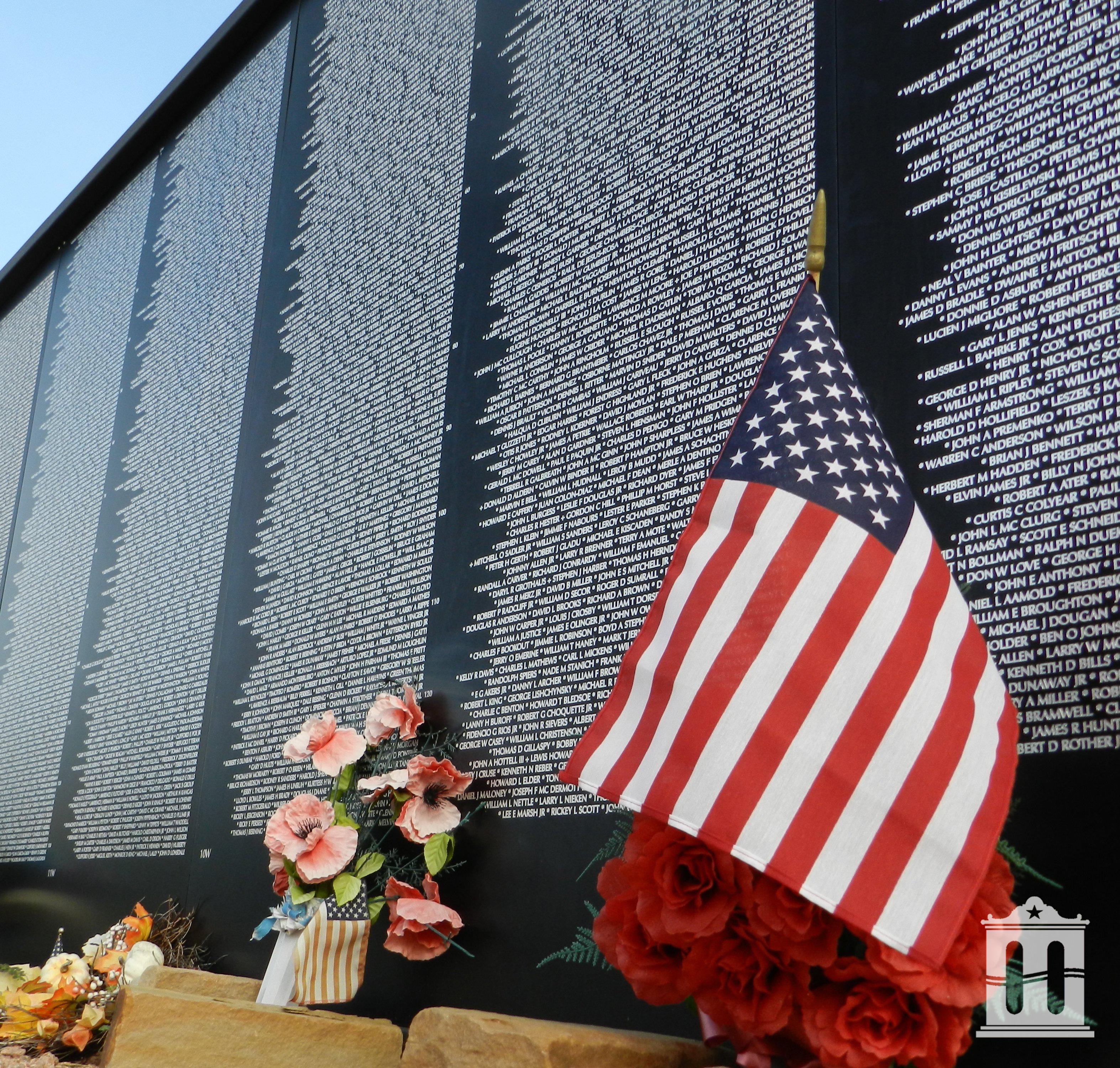 National Vietnam War Museum Wall