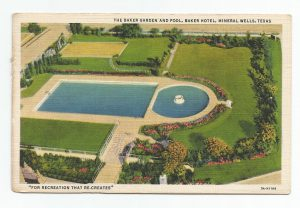 Baker Hotel Postcard Curt Teich 3A-H1168