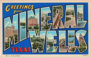 Mineral Wells postcard history