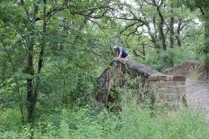 Texas Frontier Trails Bridge