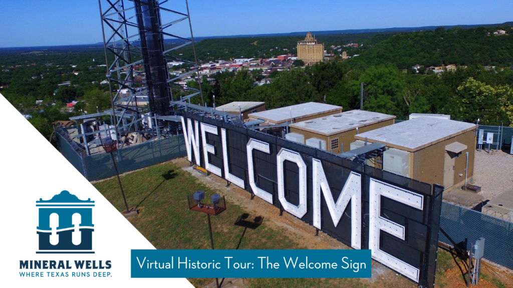 Historic Tour Welcome Sign
