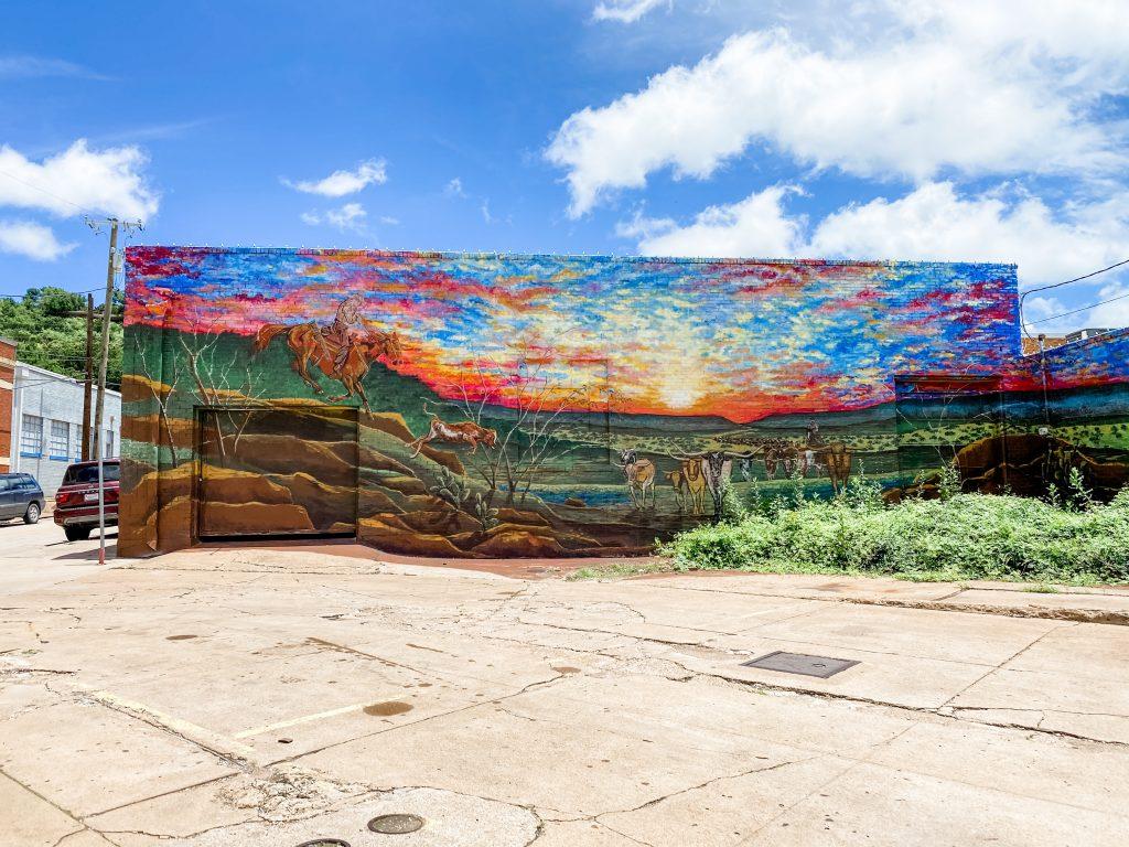 Goodnight-Loving Mural Mineral Wells