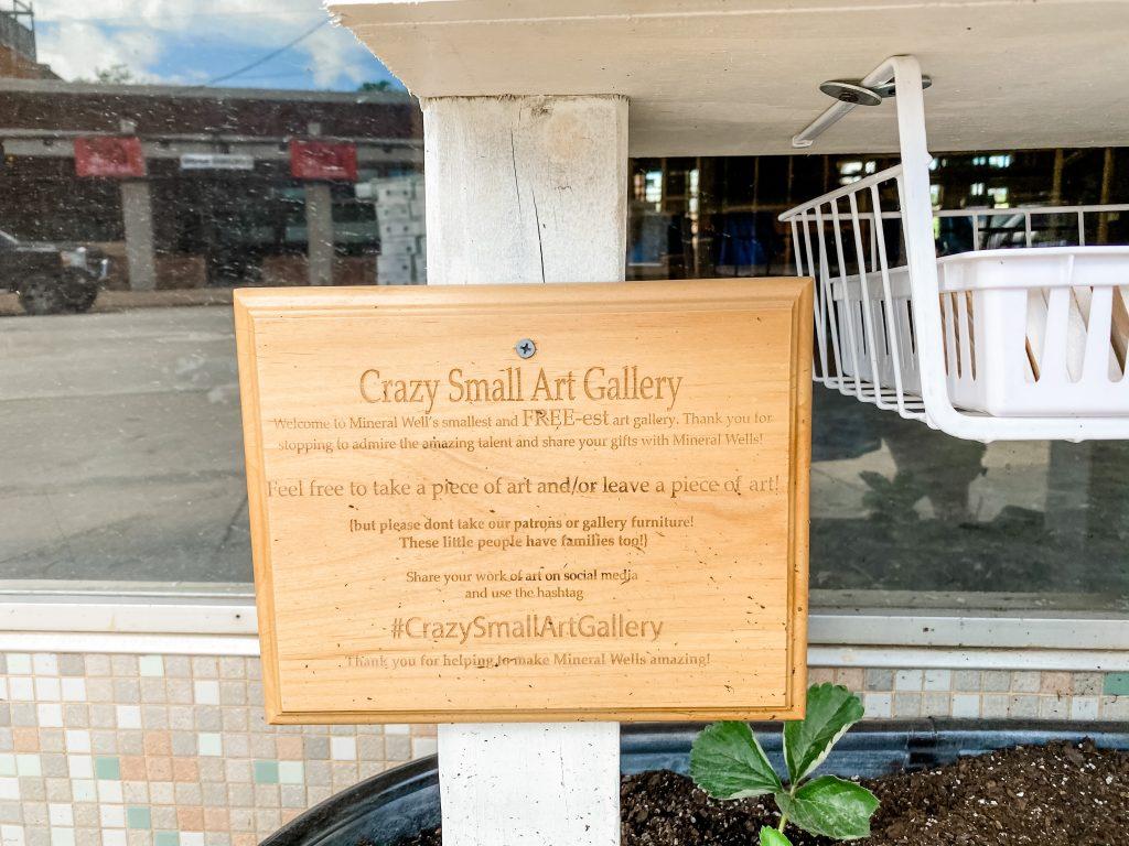 Crazy Art Gallery Mineral Wells