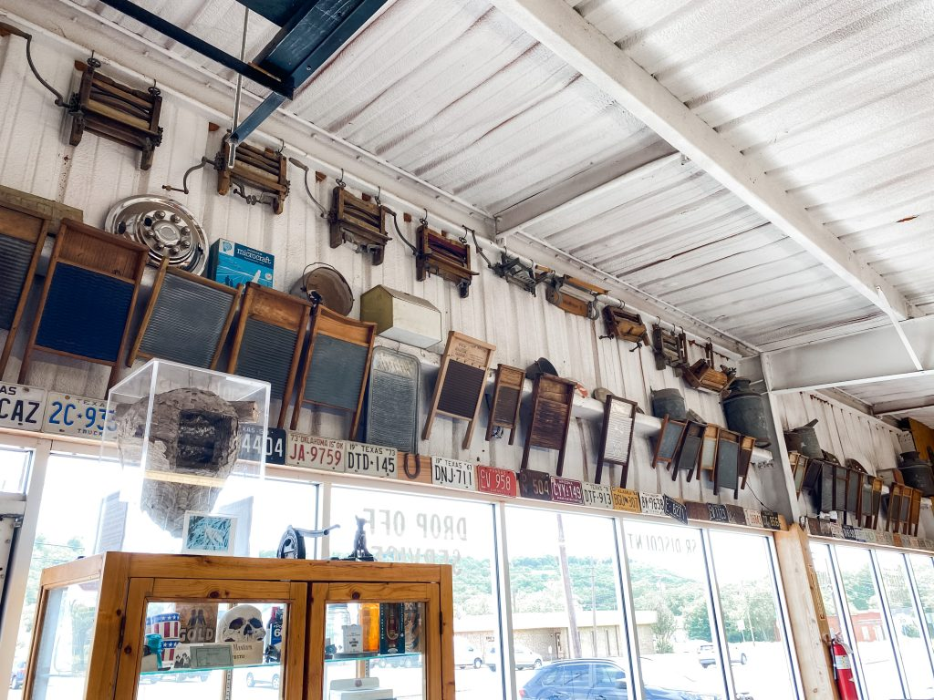 Washing Machine Museum in Mineral Wells