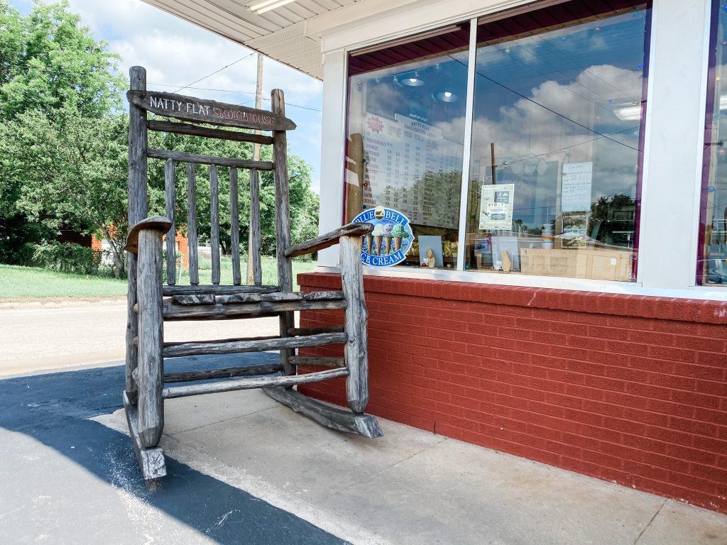 Mineral Wells Largest Cedar Rocking Chair